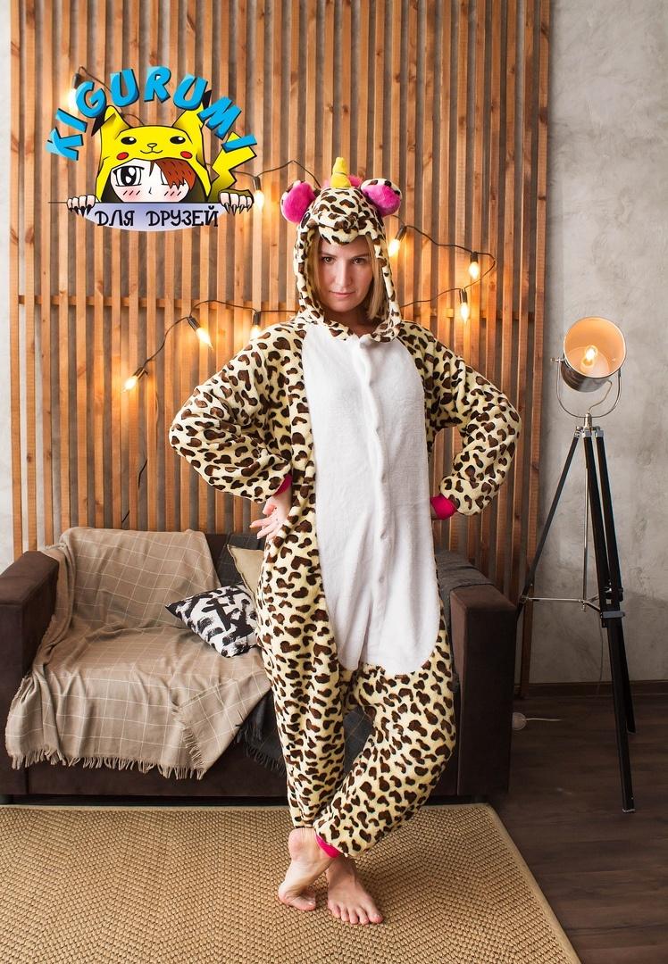 Леопардовый единорог