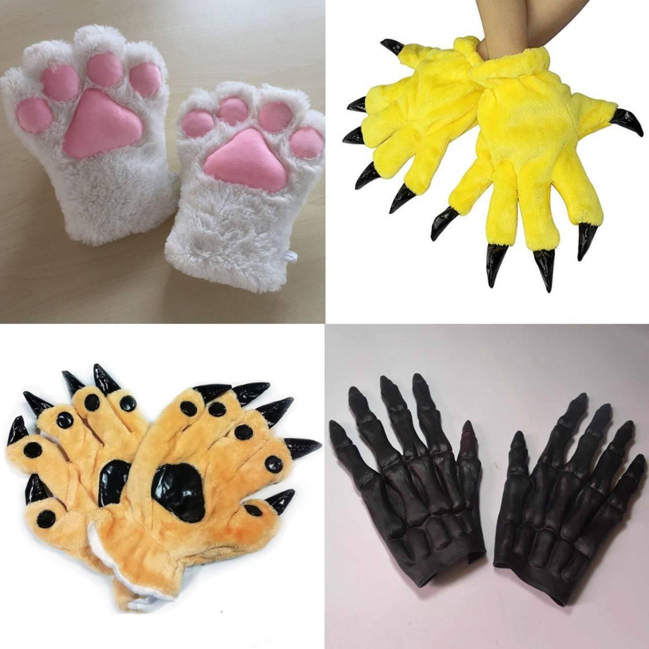 кигуруми перчатки