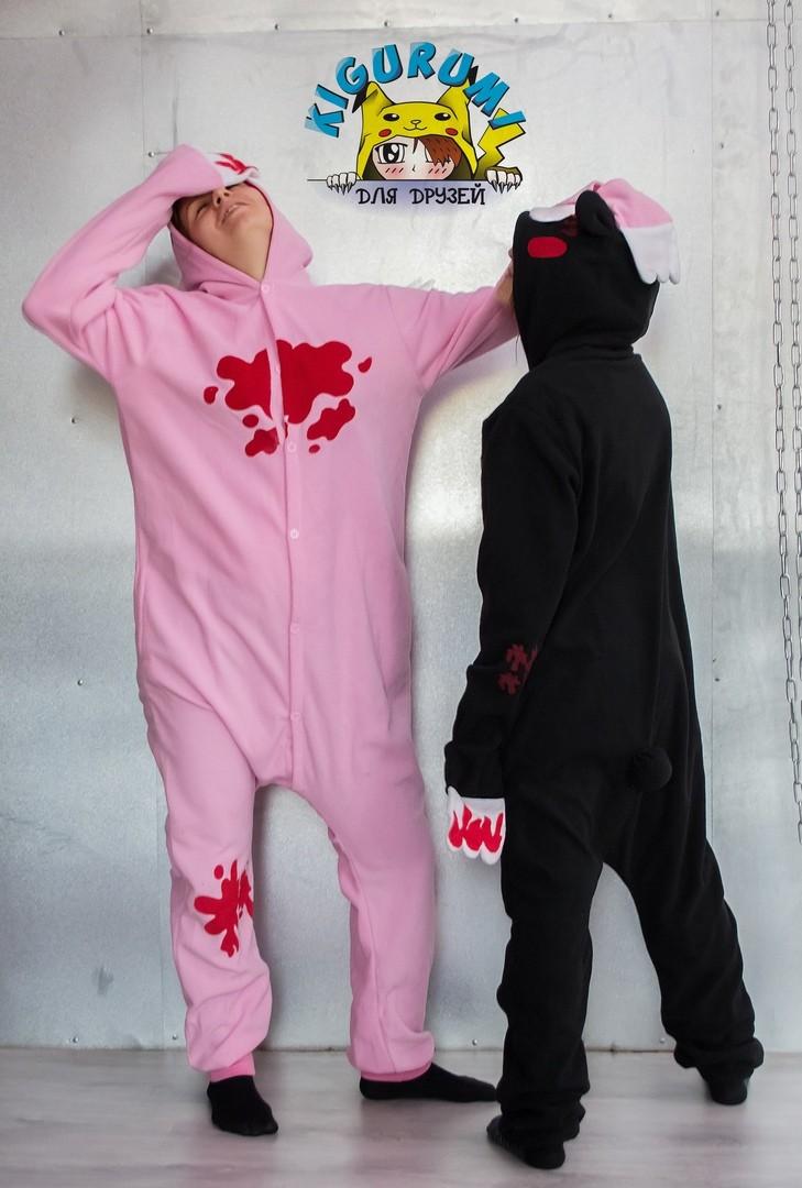 Кигуруми розовый кошмар и черный кошмар